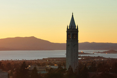 UC Berkeley Campanile Sunset. Photo by Keegan Houser.
